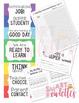 Behavior Clip Chart - Polka Dot - Classroom Management - EDITABLE Classroom Log