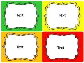 Behavior Clip Chart (Classroom Management Tool) Editable