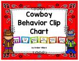 Behavior Clip Chart {Cowboy}