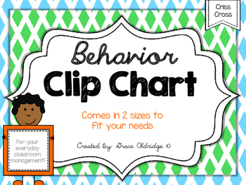 Behavior Clip Chart {Criss-Cross}