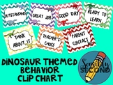 Behavior Clip Chart - Dino Theme! {Editable!}