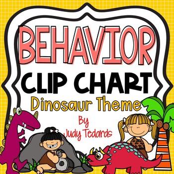 Behavior Clip Chart (Dinosaur Theme)