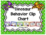 Behavior Clip Chart {Dinosaurs}