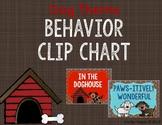 Behavior Clip Chart - Dog Theme