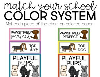 Dog Behavior Clip Chart
