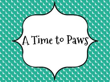 Behavior Clip Chart - Dog Themed