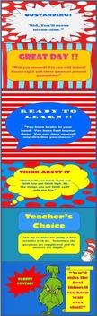 Behavior Clip Chart (Dr. Seuss Themed)