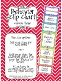 Behavior Clip Chart - Chevron theme