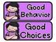 Behavior Clip Chart (Editable Clip Chart)