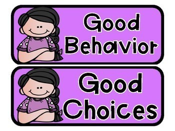 Behavior Clip Chart (Editable Clip Chart)