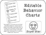 Behavior Clip Chart - Emoji Behavior Chart - Smiley Faces - Classroom Management