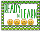 Behavior Clip Chart Emoji Style