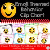 Behavior Clip Chart {Emoji Themed}