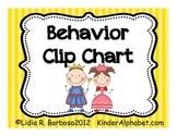 Behavior Clip Chart- English