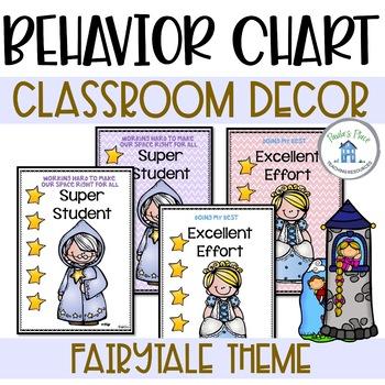 Behavior Clip Chart - Fairy Tale Theme