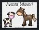 Behavior Clip Chart - Farm Animals Decor
