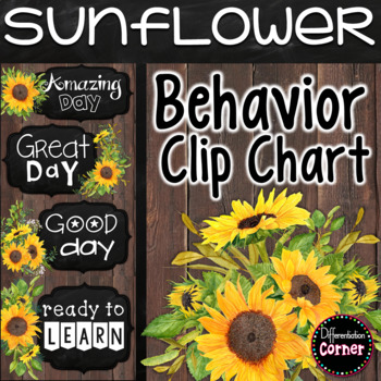 Behavior Clip Chart Farmhouse Classroom Decor