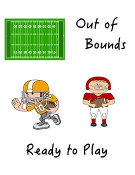 Behavior Clip Chart Football Theme