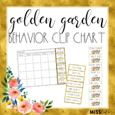 Behavior Clip Chart {Golden Garden}