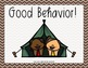 Behavior Clip Chart - Happy Campers Decor