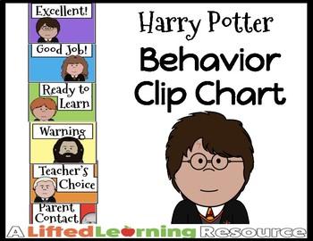 Behavior Clip Chart - Harry Potter