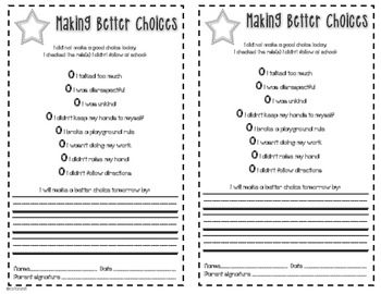 Behavior Clip Chart {Hollywood Theme}