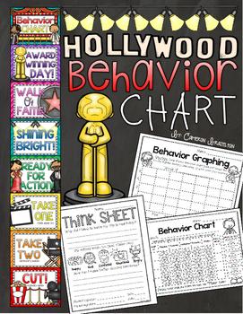 Behavior Clip Chart Hollywood Theme