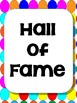 Behavior Clip Chart Includes Hall of Fame {Colorful Circles}