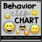 Behavior Clip Chart- Individual and Class