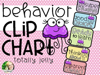 Behavior Clip Chart - Jellyfish