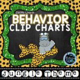 Behavior Clip Chart & Sticker Charts- Jungle Safari Theme