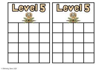 Behavior Clip Chart & Sticker Charts- Jungle Safari Theme