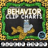 Behavior Clip Chart & Sticker Charts- Jungle Themed Classroom Decor