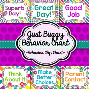 Behavior Clip Chart-Just Buggy!