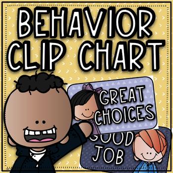 Behavior Clip Chart~ Kidlette Theme
