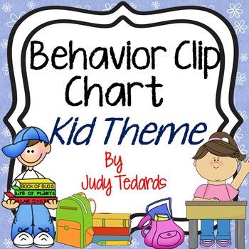 Behavior Clip Chart (Kids Theme)