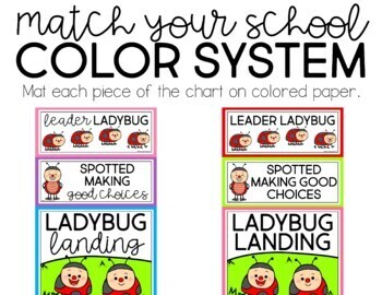 Ladybug Behavior Clip Chart