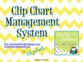 Behavior Clip Chart Management System