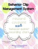 Behavior Clip Chart Management System and Coupons and Record Chart!