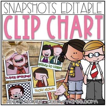 {Editable} Behavior Clip Chart Snapshots