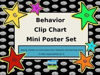 Behavior Clip Chart Mini Poster Set