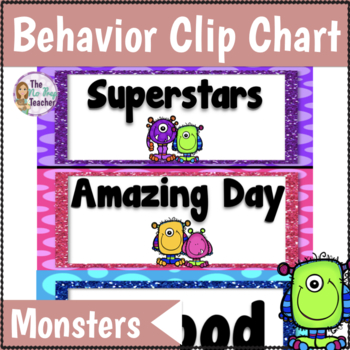 Behavior Clip Chart Monster Theme