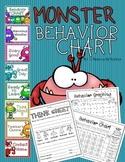 Behavior Clip Chart Monster Theme