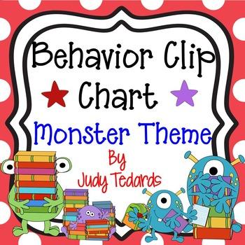 Behavior Clip Chart (MonsterTheme)