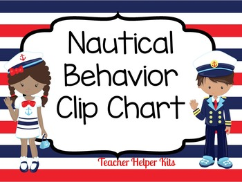 Behavior Clip Chart (Nautical)
