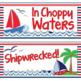 Behavior Clip Chart - Nautical Themed