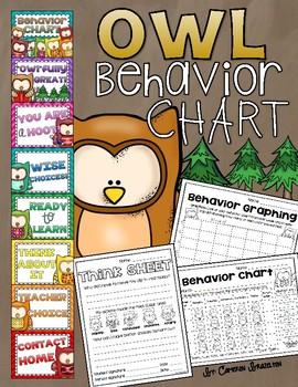 Behavior Clip Chart Owl Theme