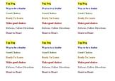 Behavior Clip Chart (Paper Clips) (Peanuts Classroom Behav