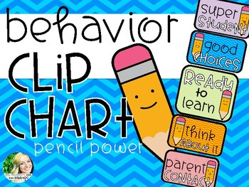 Behavior Clip Chart - Pencils