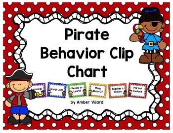 Behavior Clip Chart {Pirate}